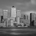 canary wharf and the thames by mike mike milkshakes