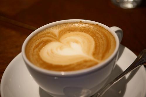 Caffè Latte Heart