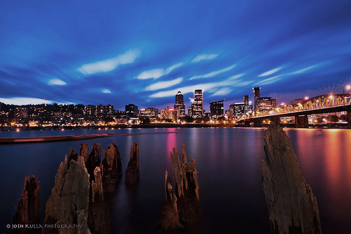 longexposure sunset water clouds oregon portland nikon cityscape hawthornebridge bluehour willametteriver urbanlandscape polarizingfilter nikond700 joshkulla oregonlandscapephotographers joshkullaphotography