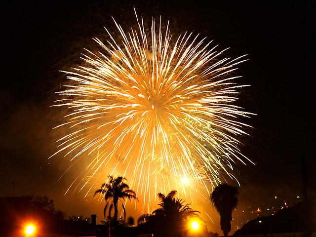 Los Realejos Fireworks, Tenerife