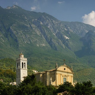 The St. Stefano Church is Malcesine's oasis of quiet