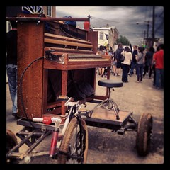 Piano Bike; play it again, Sam. #whyilovephilly