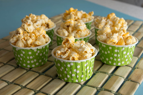 Three Cheese Popcorn