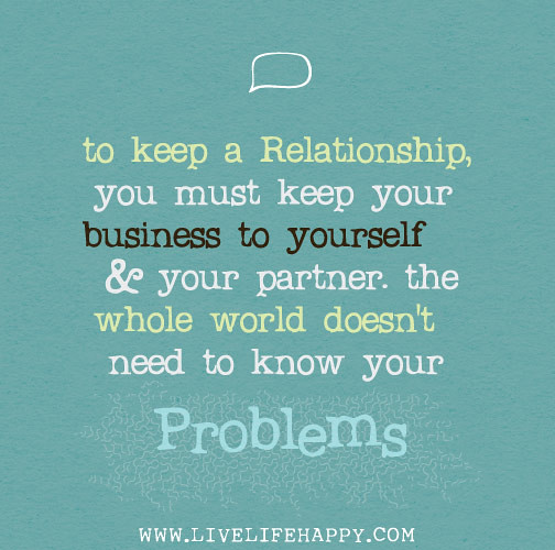 how to keep a good relationship
