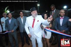 Inauguran en Los Robles, Juan López, La Gran Manzana Supermarket