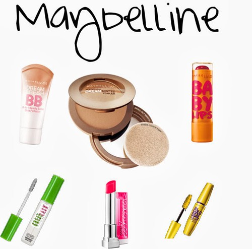 Maybelline Favorite Products