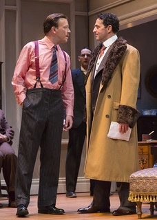 Eric T. Miller, Nael Nacer, and Stephen Schnetzer in Clifford Odets' stirring American classic AWAKE AND SING!, directed by Melia Bensussen, playing November 7 – December 7, 2014 at the BU Theatre / Avenue of the Arts. Photo: T. Charles Erickson