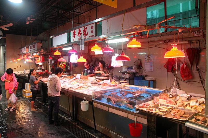 Seafood-Stalls