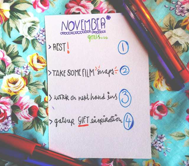 vivatramp november goals monthly goals aims uk lifestyle book blogger