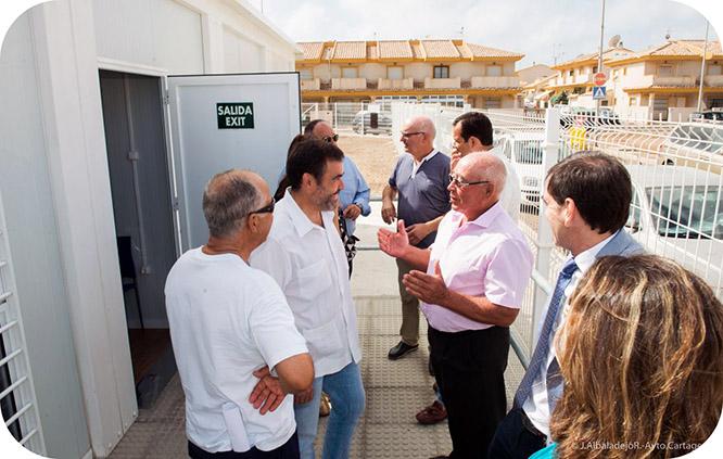 Playa Paraíso estrena consultorio prefabricado