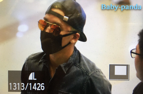 Big Bang - Gimpo Airport - 05jun2015 - Seung Ri - Baby Panda - 01