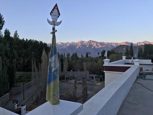 india ladakh leh sunrise public