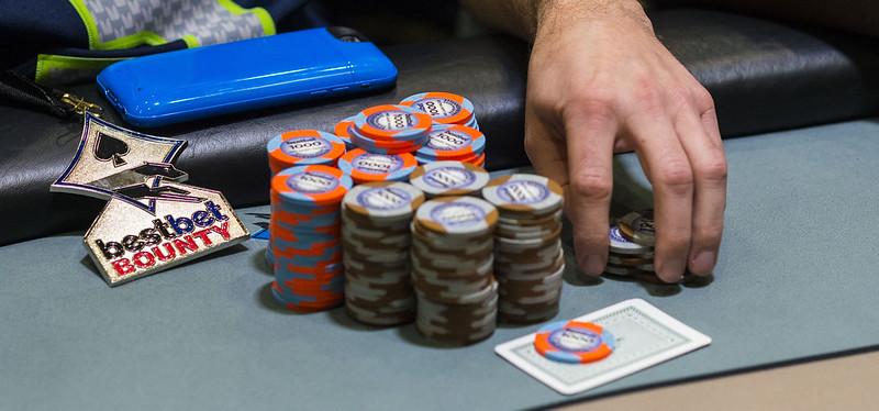 Bounty Medallion & Chip Stacks