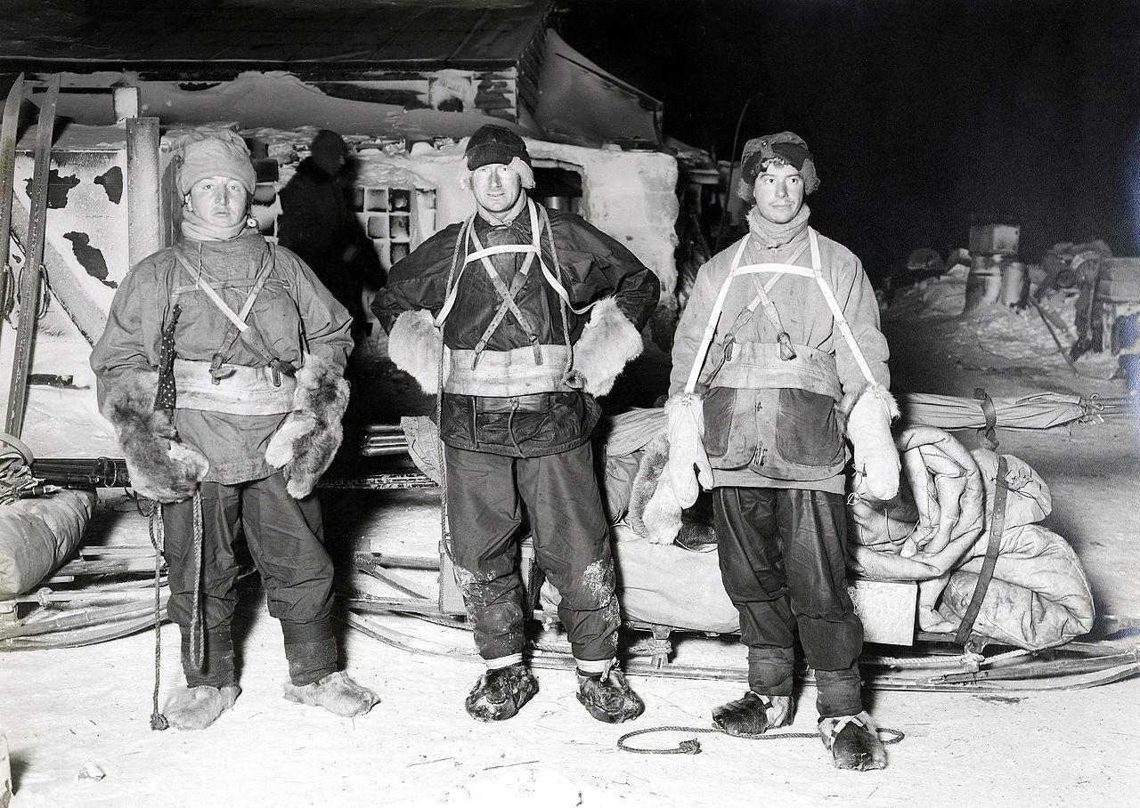 Bowers, Wilson & Cherry-Garrard