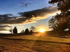 Galemont sunset