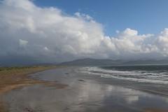 22nd September 2016. Inch Strand from Ardroe, Dingle Peninsula, County Kerry, Ireland