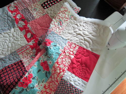 Chrysanthemum Quilting tutorial