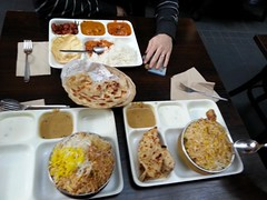Lunch at Chilli India Express, Melbourne Central