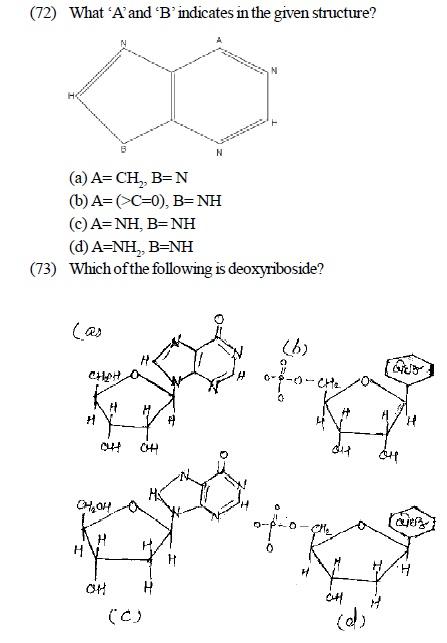 AIPMT Question Bank: Biology - Biomolecules