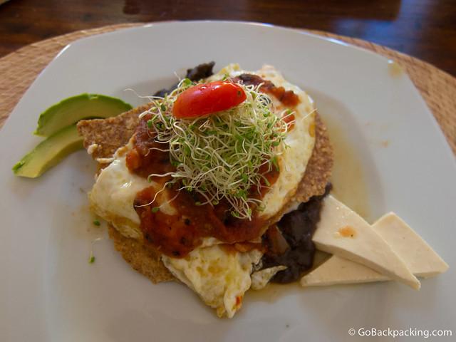 Organic Huevos Rancheros