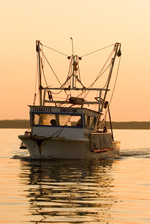 A commercial fishing boat