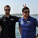 James Hinchcliffe and Alex Tagliani in Toronto