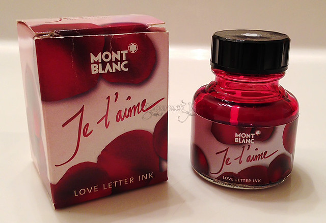 Montblanc Je T'aime Love Letter Ink