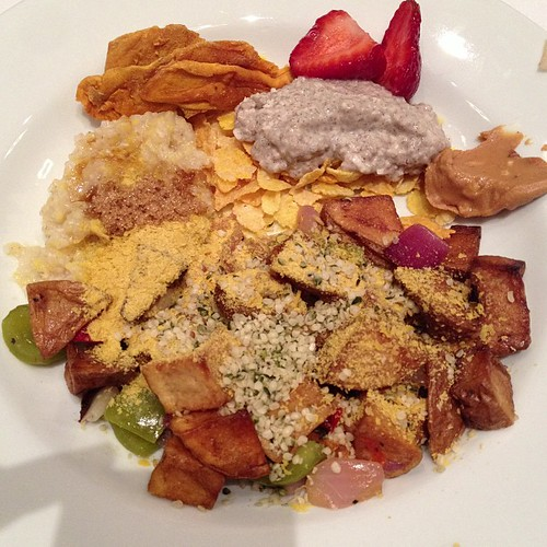 Breakfast Bowl at #vvc2013 #vegan #pdx