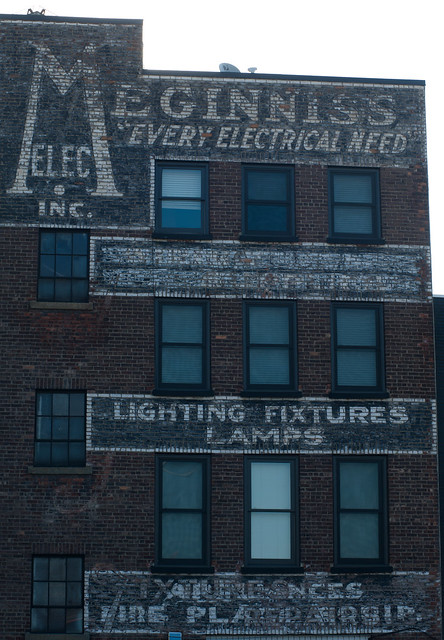 Meginnis Electric - Ghost Sign-8777