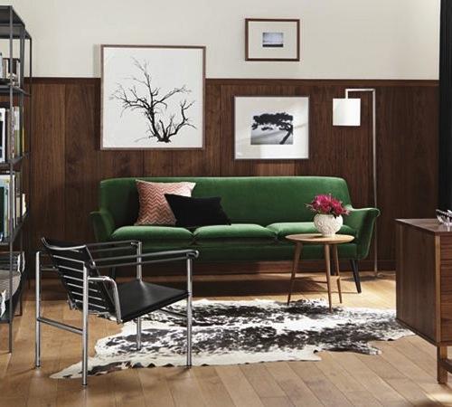 Jewel Tone Sofas at Room & Board