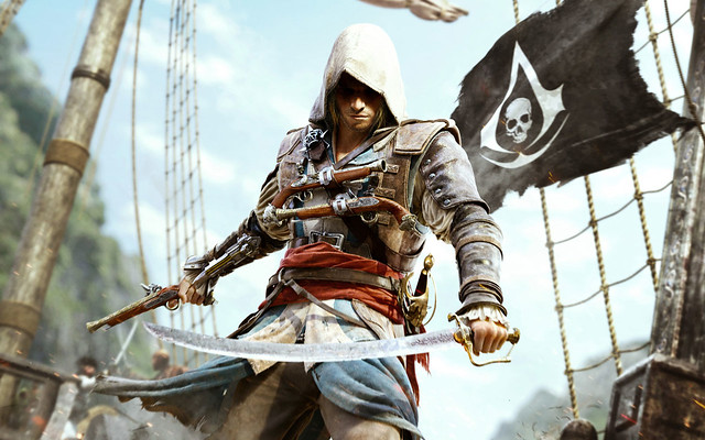 Assassin's Creed 4 Black Flag Game Wide Wallpaper