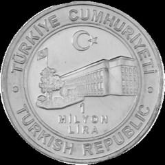 1 million Lira reverse