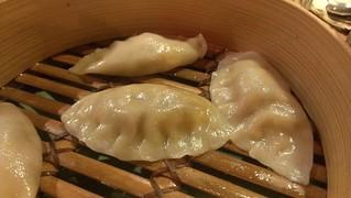 Kimchi Dumplings at Yong Green Food