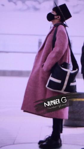 Big Bang - Incheon Airport - 21mar2015 - G-Dragon - Number G - 01