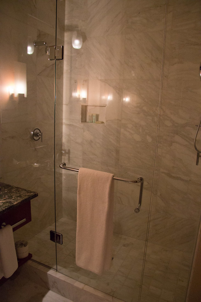 Bathroom at Grand Hyatt Seattle, 1 Bedroom King room