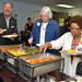 Trustee Edwards attends a Food Service Department Tour