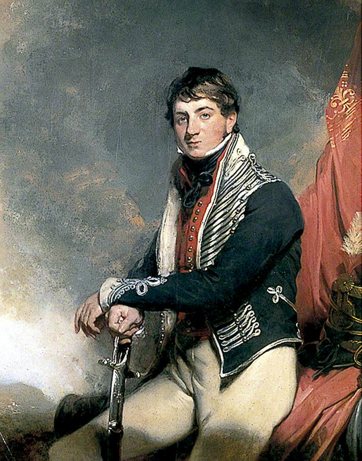 Lieutenant Colonel Sir Henry Vassal Webster by Sir Martin Archer Shee - c.1814
