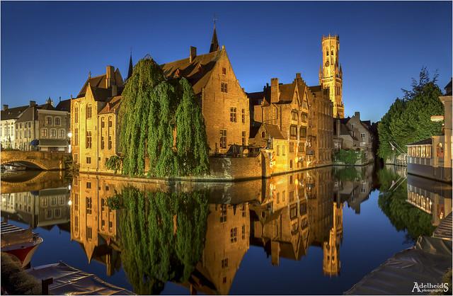 Blue Bruges, Belgium (explored)