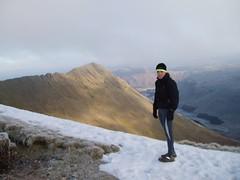 Helen on the Helvelyn Ridge Image