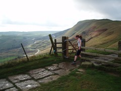 Running: Mam Tor Horseshoe (23-Oct-05) Image