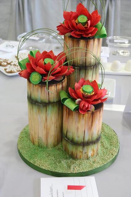 Cake by Oklahoma State Sugar Art Show