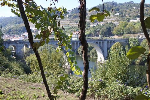 Bridge over the Tamega river