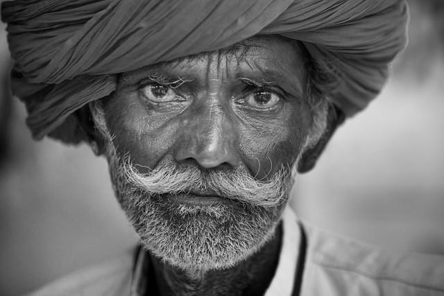 Inde: Rajasthan, portrait.