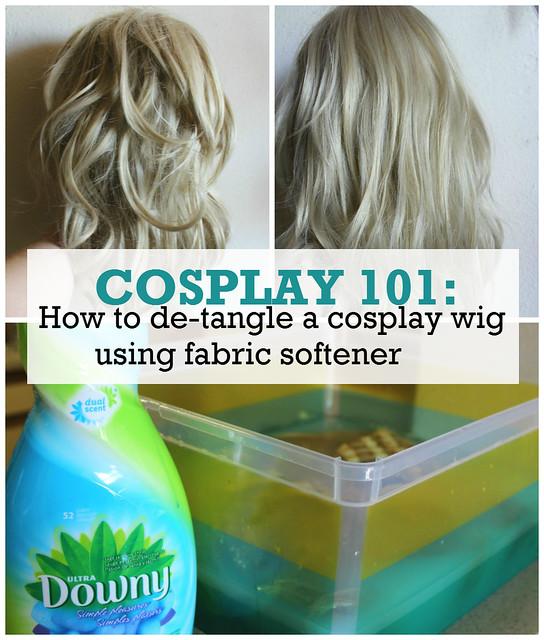COSPLAY 101: De-tangling a Cosplay Wig