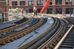 Loop Track Renewal - Hubbard St. Curve