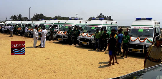 'Dial 108 Emergency' Service in Puri