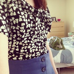 Flea market day #mmm13 #memademay13 #colettepatterns