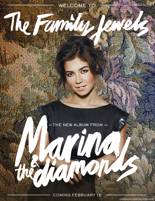 Marina & The Diamonds - The Family Jewels Poster ...
