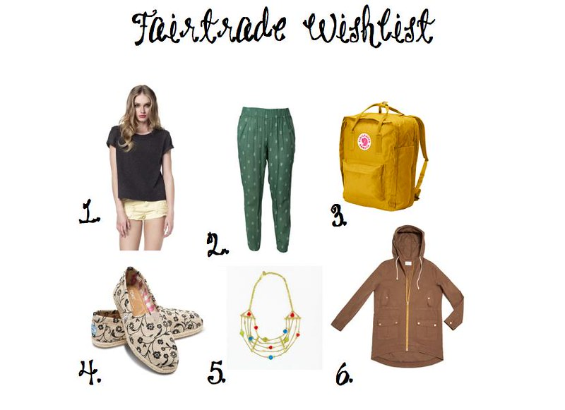 Fair Trade Wishlist