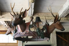 Black Forest Stag Head Chandelier